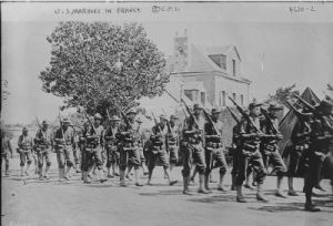 Marines in France