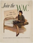 WAC recruitment poster, WWII
