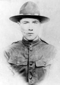 Pfc. George F. Cunningham, U.S. Army, World War I