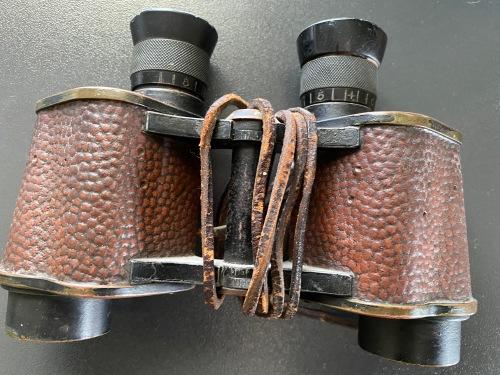 George F. Cunningham's field glasses