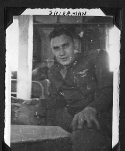 Shireman as a WWII flier