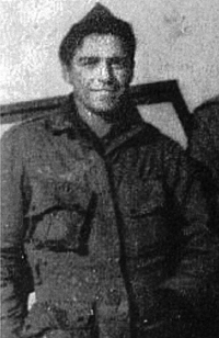 Bench Hartman of Company C, 502nd Parachute Infantry Regiment, 101st Airborne Division