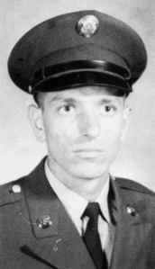 Nicholas L. Venditti of Malvern, Pa., as a 19-year-old soldier at Fort Polk, La., in the summer of 1968.