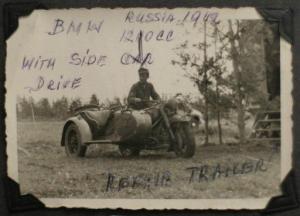 Wartime photo of Eddie Sakasitz