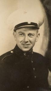 Charlie Gubish as a Marine