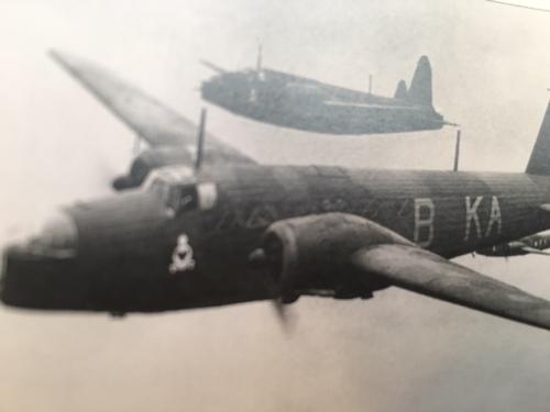 Wellington Mk. 1 bombers