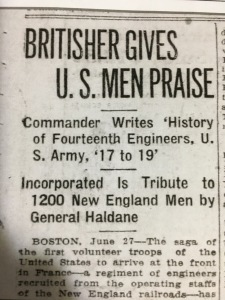 AP story about book on 14th Engineers