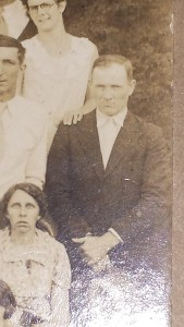 George Cunningham at 1934 family reunion
