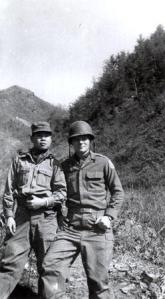 Gene Salay in Korea in 1953